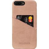 Afbeelding vanDecoded Leather Back Cover Apple iPhone 7 Plus Roze telefoonhoesje