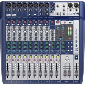 Afbeelding van Soundcraft Signature 12 pro audio mixer