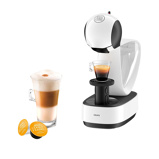 Afbeelding vanKrups Dolce Gusto Infinissima KP1701 Wit cup en padmachine