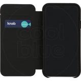 Afbeelding vanDecoded Leather Slim Wallet Apple iPhone Xr Book Case Zwart