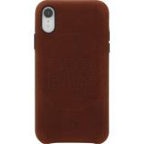 Afbeelding vanDecoded Leather Apple iPhone Xr Back Cover Bruin telefoonhoesje