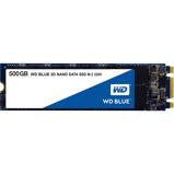 Afbeelding vanWestern Digital 3D NAND SSD Blue 500GB M.2 SATA