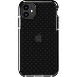 Afbeelding vanTech21 Evo Check Apple iPhone 11 Back Cover Zwart telefoonhoesje