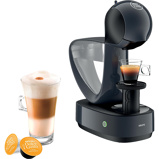 Afbeelding vanKrups Dolce Gusto Infinissima KP173B Zwart cup en padmachine