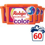Afbeelding van4x Robijn Wasmiddel 3 in 1 Capsules Color 15 stuks