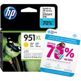 Afbeelding vanHP 951 Officejet cartridge Geel XL (CN048AE)