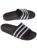 Image ofadidas Originals Adilette Sandals musta