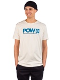Image ofPOW Protect Our Winters Logo T-Shirt valkoinen