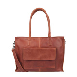 Afbeelding vanCowboysbag Clean Lines Diaper Bag Tortola Cognac