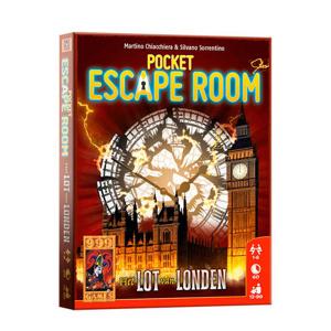 Afbeelding van 999 Games Pocket Escape Room: het lot van londen kaartspel