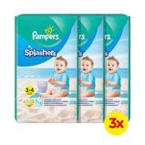 Afbeelding vanPampers Splashers Maat 3-4 (6-11 kg) 36 wegwerpbare zwemluiers