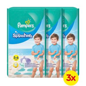 Afbeelding van Pampers Splashers maat 5-6 (14+ kg) 30 wegwerpbare zwemluiers