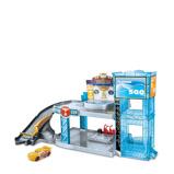 Afbeelding vanDisney Cars 3 speelset Piston Cup garage jongens lichtblauw