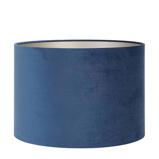 Afbeelding vanLight & Living Lampenkap cilinder VELOURS 40 30cm petrol blue