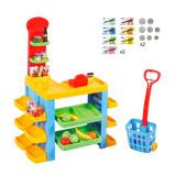 Afbeelding vanPlaygo supermarkt & trolley set