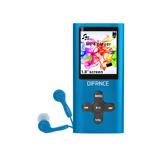 Afbeelding vanDifrnce MP1851 4GB Blauw mp3 speler