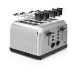 Afbeelding vanPrincess Toaster Steel Style 4 broodrooster