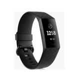 Afbeelding vanFitbit Charge 3 Black/Graphite Aluminium slimme horloge