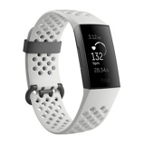 Afbeelding vanFitbit Charge 3 Special Edition Graphite/White slimme horloge