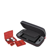 Afbeelding vanBigben Nintendo Switch Travel Case Zwart hoesje voor consoles