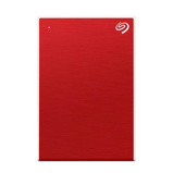 Afbeelding vanSeagate Backup Plus Slim 2TB Rood externe harde schijf HDD