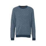 Afbeelding vanAmsterdenim gemêleerde gebreide trui blauw