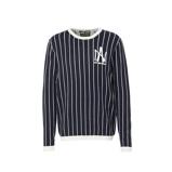 Afbeelding vanAmsterdenim gestreepte trui zwart/wit