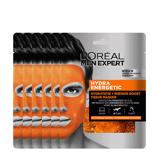 Afbeelding vanL'Oréal Paris Men Expert Hydra Energetic hydraterend tissue gezichtsmasker