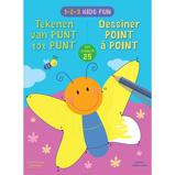 Afbeelding van1 2 3 Kids Fun Tekenen van punt tot 25 / Dessiner de point à jusqu'a ZNU