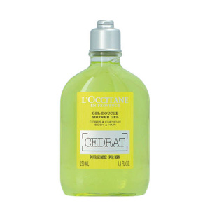 Afbeelding van 10% code LIEFDE10 L'Occitane Cedrat Shower Gel For Men Body & Hair 250 Ml Douchegel