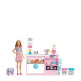 Afbeelding vanMattel Barbie speelset cake bakken en decoreren 12 delig 23 cm