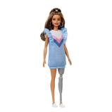 Afbeelding vanMattel Barbie Fashionistas tienerpop meisjes 33 cm (FXL54)