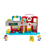 Afbeelding vanFisher Price speelset Little People Vriendelijke School 4 delig