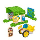 Afbeelding vanFisher Price bouwpakket Wonder Makers Hangar hout 15 delig