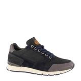 Afbeelding vanAM SHOE leren sneakers donkerblauw/grijs