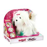 Afbeelding vanGoliath knuffel Animagic Fluffy meisjes 22 cm pluche wit