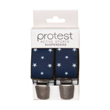 Afbeelding vanProtest bretels met sterren blauw
