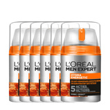 Afbeelding vanL'Oréal Paris Men Expert Hydra Energetic hydraterende gezichtscrème 3x 50ml multiverpakking