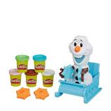 Afbeelding vanPlay Doh kleiset Frozen II Olaf 12 delig