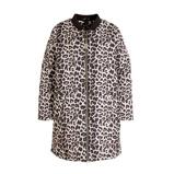 Afbeelding vanAdia gewatteerde jas met panterprint zwart/ecru/multi