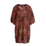 Afbeelding vanAdia jurk met all over print rood/multi