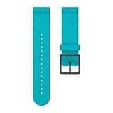 Afbeelding vanPolar Ignite 20mm Horlogeband Textiel Turquoise S horlogebandje