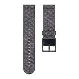 Afbeelding vanPolar Ignite 20mm Horlogeband Textiel Zwart S horlogebandje