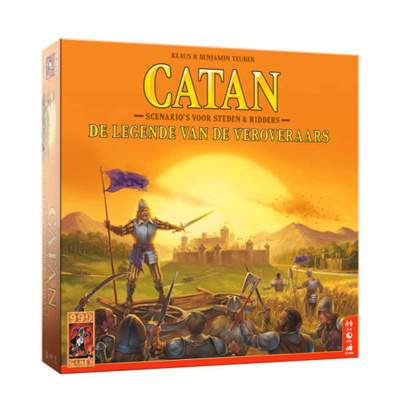 Afbeelding van 999 Games Catan: de legende van veroveraars bordspel