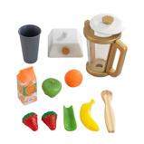 Afbeelding vanKidKraft houten speelgoed smoothieset Modern Metallics