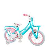 Afbeelding vanVolare Ibiza 16 inch kinderfiets turqoise pink
