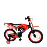 Afbeelding vanVolare Motorbike 16 inch kinderfiets orange