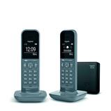 Afbeelding vanGigaset CL390A Duo Grijs vaste telefoon