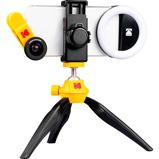 Afbeelding vanKodak Smartphone Photography Kit Ultra Wide + Macro, Tripod, Portrait Light, Travel Case