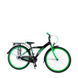 Afbeelding vanVolare Thombike 26 Inch 43 cm Jongens Terugtraprem Zwart/Groen